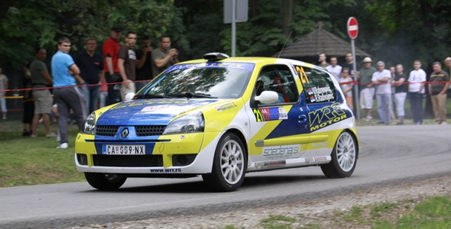 Itinerer Serbia Rally-a 2013
