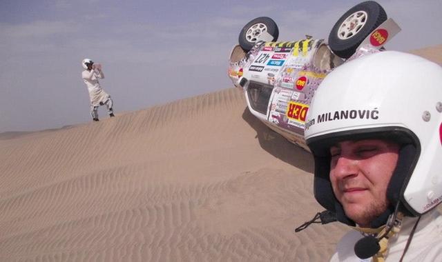 Dakar reli 2013 – Antara na krovu
