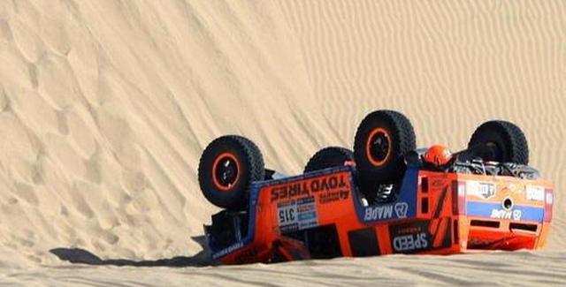 Dakar reli 2013, Stage 4 - Sumrak favorita