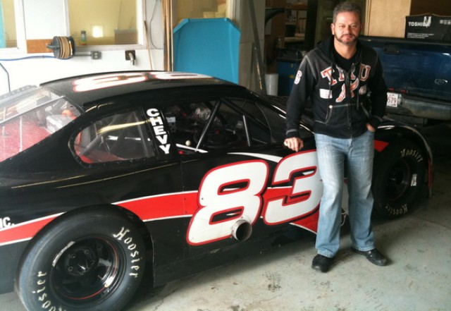 BORIS ĐORĐEVIĆ U NASCAR BOLIDU