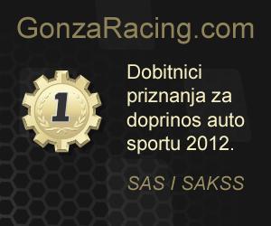 Gonza racing dobitnici priznanja za doprinos auto sportu 2012
